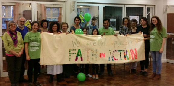 FiA supporters at Wimbledon Synagogue Mitzvah Day