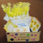 Wimbledon High School gift envelopes and gift box