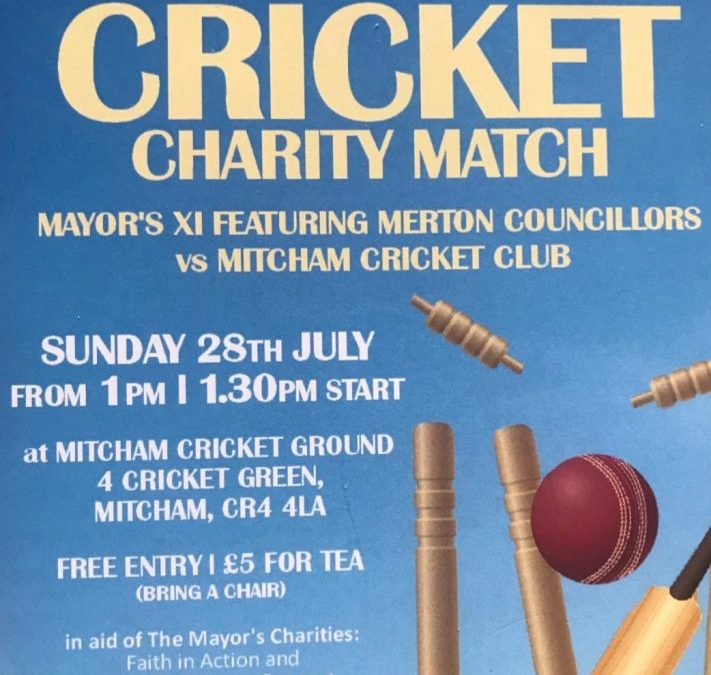 Mayor's Charity Cricket Match