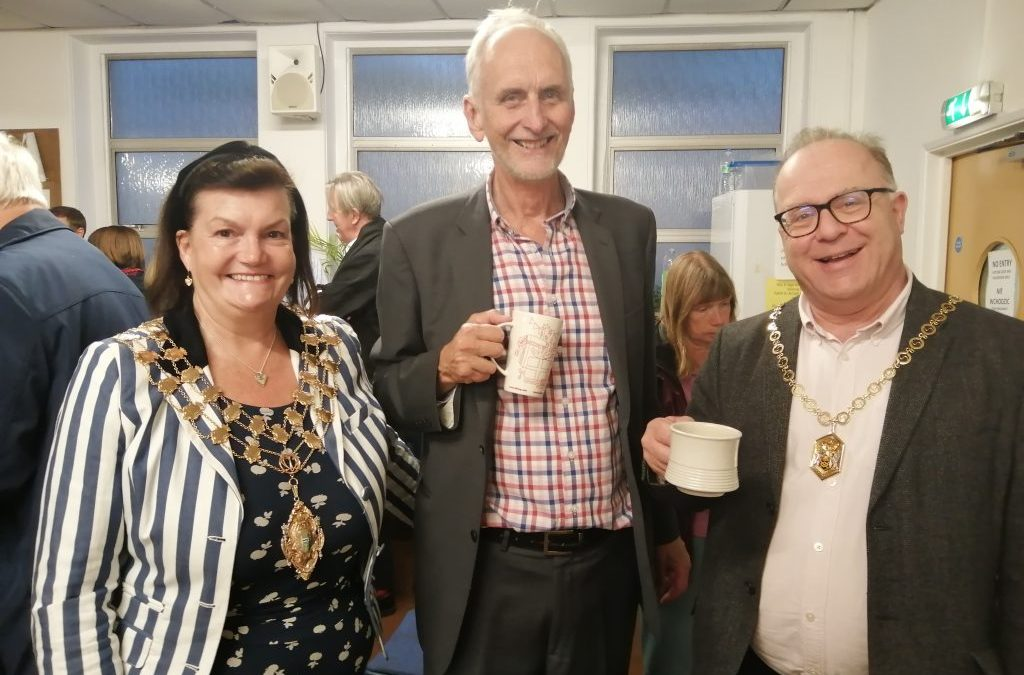 Mayor praises work of the Drop-in at AGM