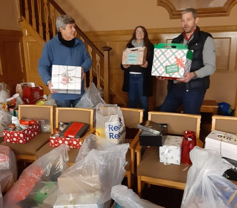 SWR Shoe Box Appeal a huge success